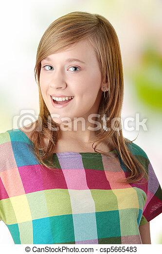 Teen girl - csp5665483