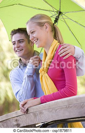 Teenage Couple - csp1879811