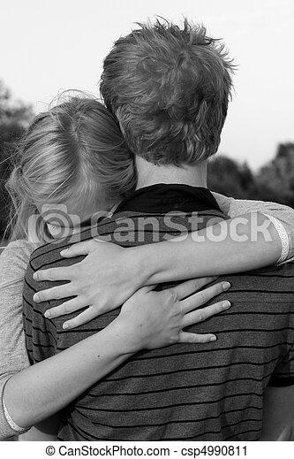 Teenage couple - csp4990811