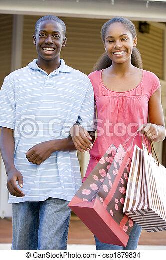 Teenage Couple - csp1879834