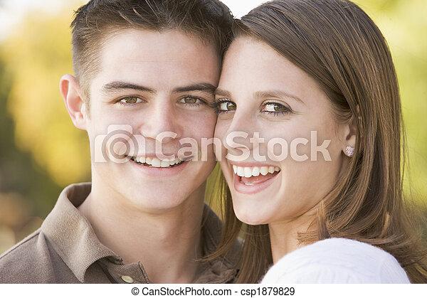 Teenage Couple - csp1879829