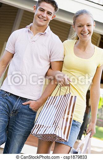 Teenage Couple - csp1879833