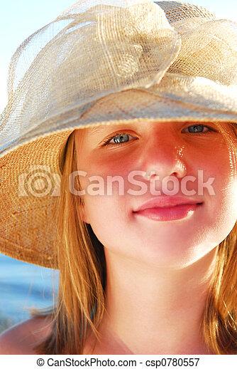 Teenage girl - csp0780557