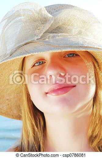 Teenage girl - csp0786081