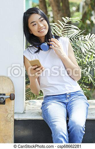 Vietnamesisches Teen Girl 1997
