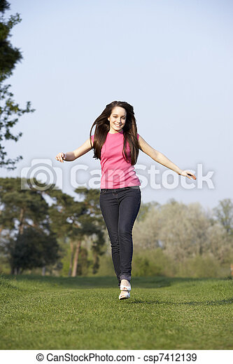 teenage-girl-running
