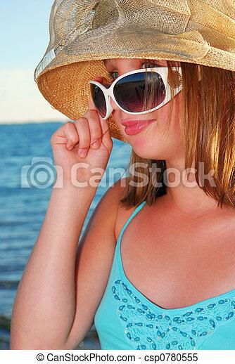 Teenage girl - csp0780555