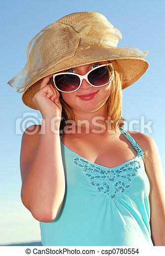 Teenage girl - csp0780554