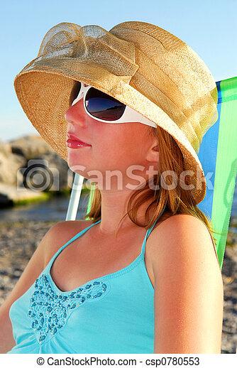 Teenage girl - csp0780553