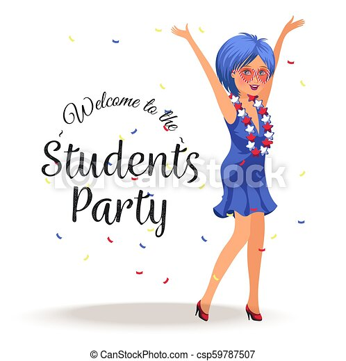 Pictures clipart teens fun party club