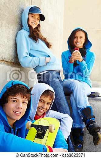 Teenagers - csp3823371