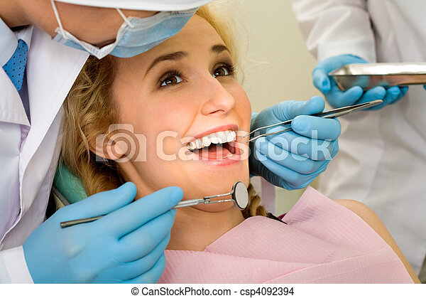 Teeth cure - csp4092394