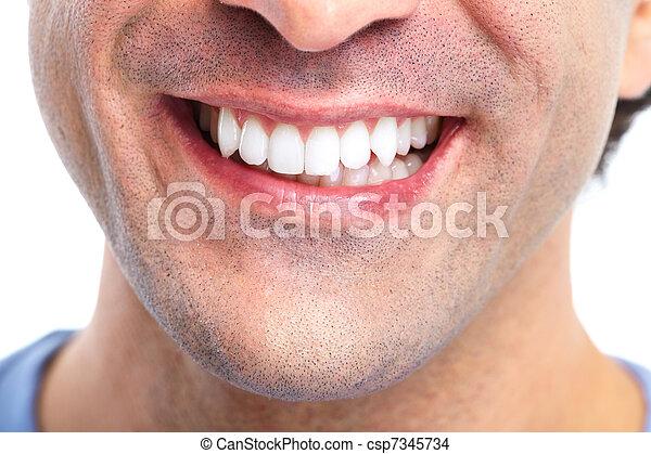 teeth. - csp7345734