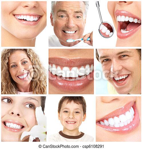 teeth whitening - csp6108291