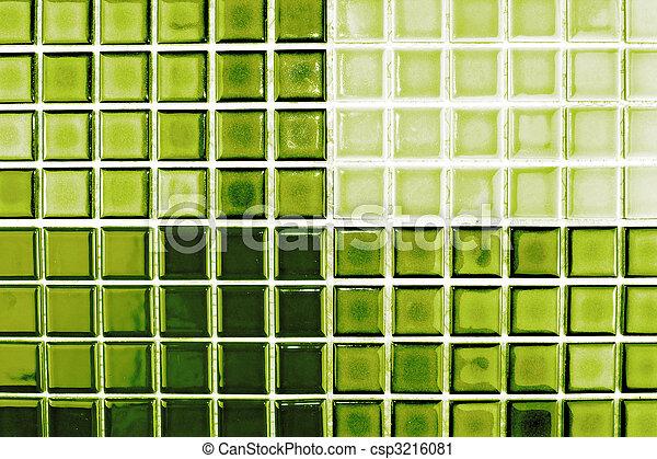 Gouden Mozaiek Tegels : Tegels groene kleur mozaïek tegels keramisch groene kleur