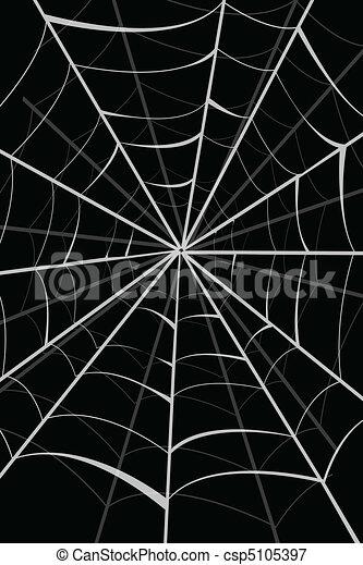 teia, aranha - csp5105397