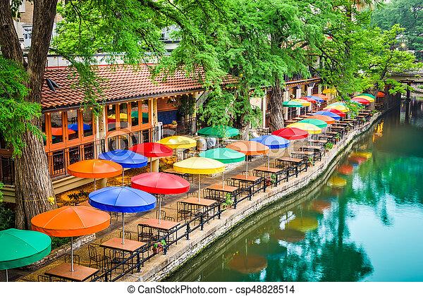 San Antonio, Texas, EE.UU - csp48828514