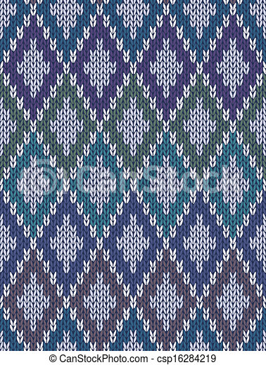 Cuadrados cuadrados de lana gingham - csp16284219