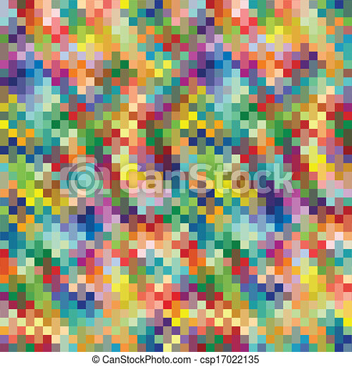vector de fondo colorido de lana - csp17022135