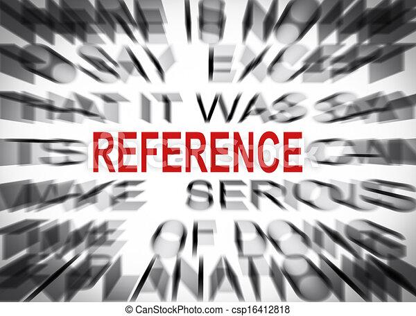 tekst, blured, brandpunt, referentie - csp16412818