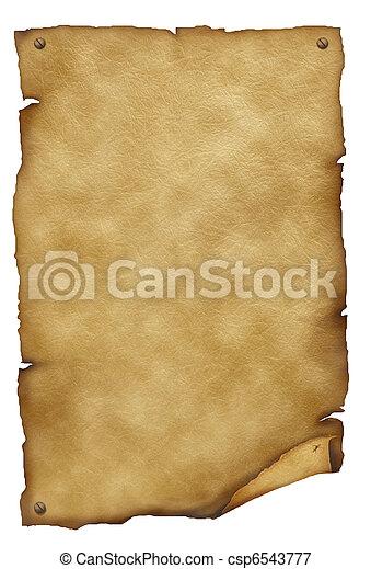 tekst, papier, antiek oude, achtergrond, texture., witte  - csp6543777