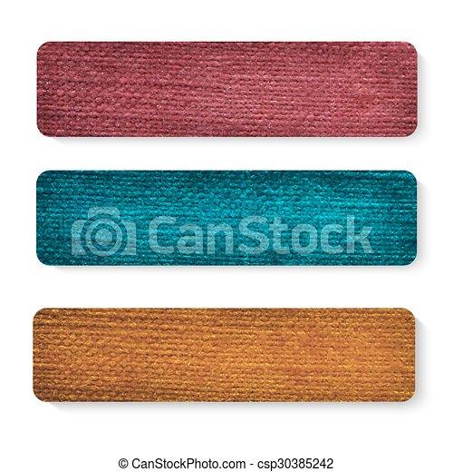 tekstylny, chorągwie, komplet - csp30385242