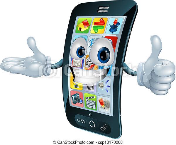 El personaje del móvil - csp10170208