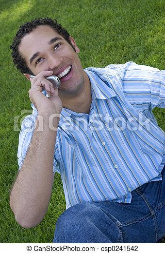 El hombre del teléfono - csp0241542