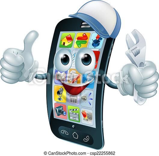 Reparador de teléfonos móviles - csp22255862