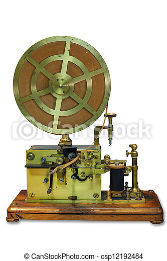 telégrafo, aparato - csp12192484
