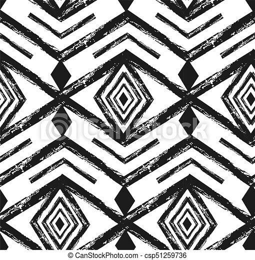 Tela, arte, elements., resumen, hipster, diseño, patrón, seamless ...