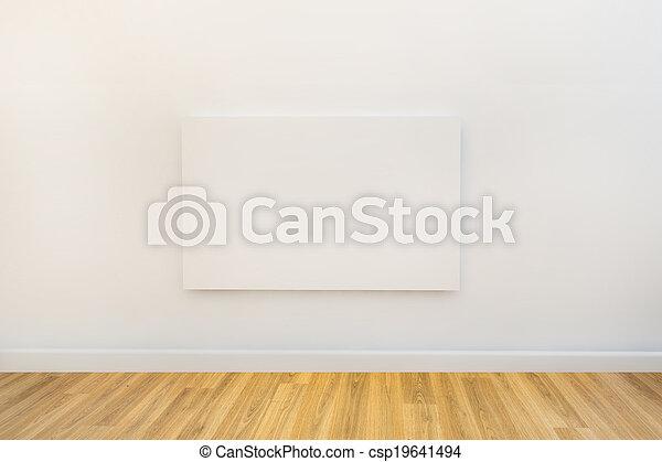 tela, arte, spazio, singolo, galleria, vuoto - csp19641494