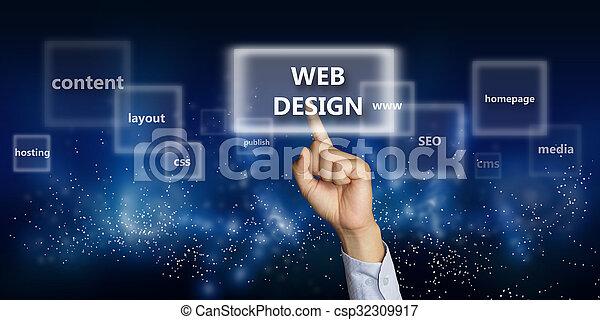 tela, concepto, diseño - csp32309917