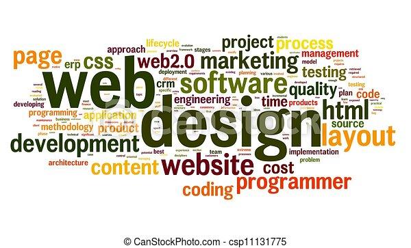 tela, concepto, palabra, etiqueta, diseño, nube - csp11131775