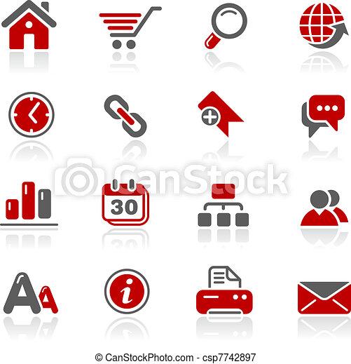 tela, redico, y, sitio, /, internet - csp7742897