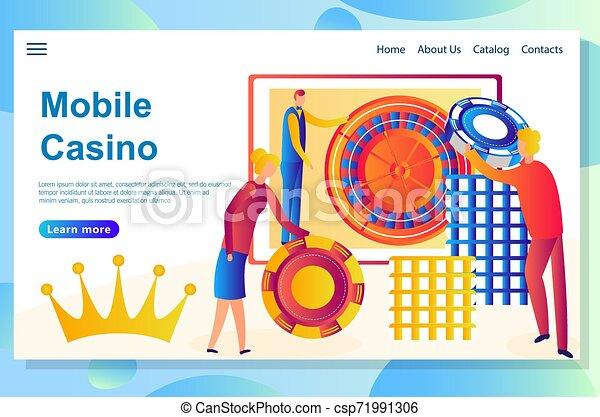 Diseño de páginas web para el tema del casino. Gran victoria al gran riesgo - csp71991306