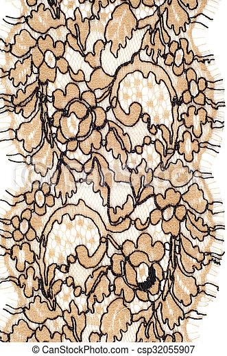 Tela, textura, encaje. Fabric., encaje, thread., uno, algodón, tela ...