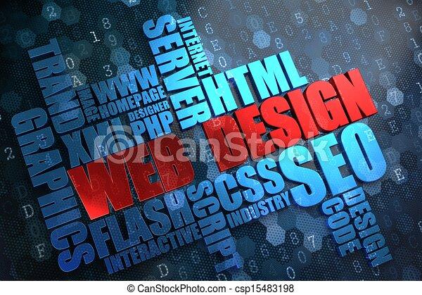 tela, wordcloud, concept., design. - csp15483198