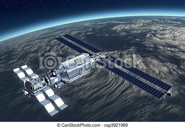 Telecommunication Satellite  - csp3921969