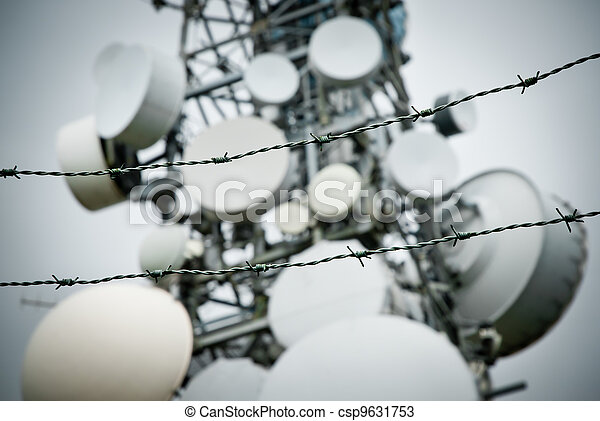 telecommunications towers - csp9631753