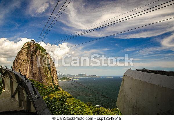 Cableway a Sugarloaf Mountain - csp12549519