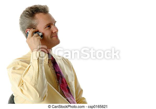Am Telefon - csp0165621