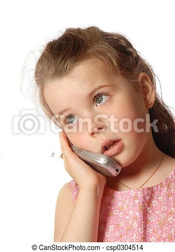 Am Telefon - csp0304514