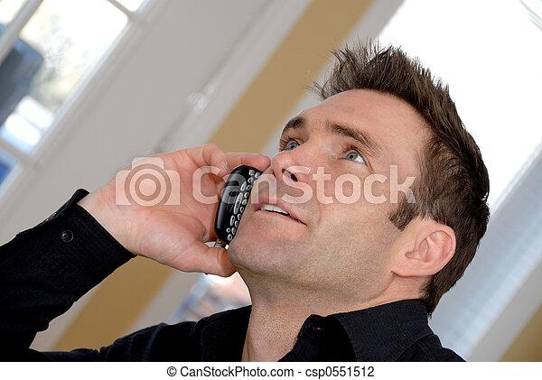 Am Telefon - csp0551512