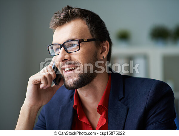 telefonando, cliente - csp15875222