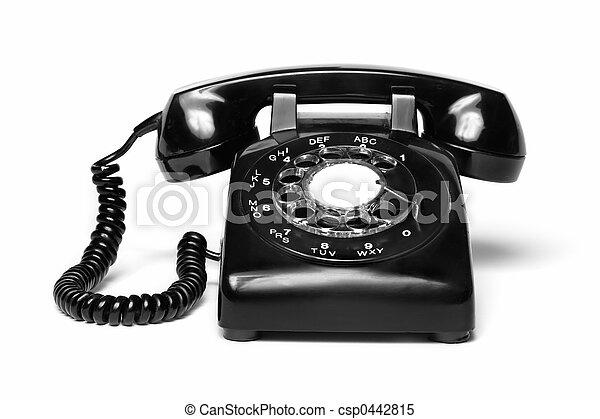 telefone antique - csp0442815
