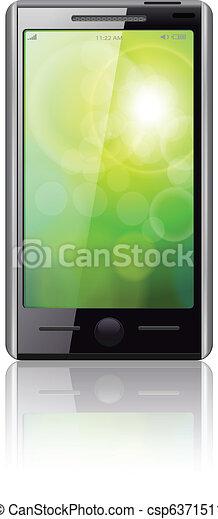telefone móvel - csp6371511