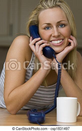 telefone, penduradas - csp1831497