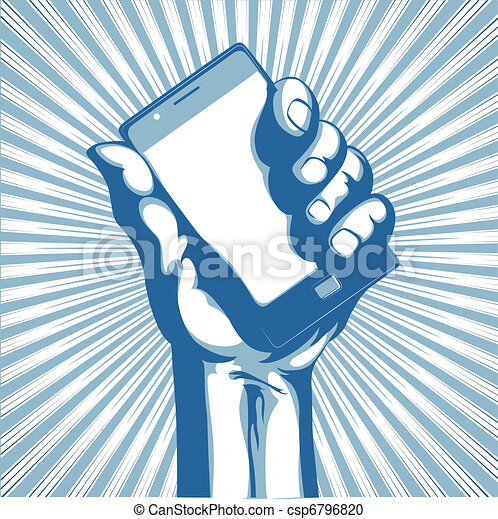 telefone pilha, modernos - csp6796820