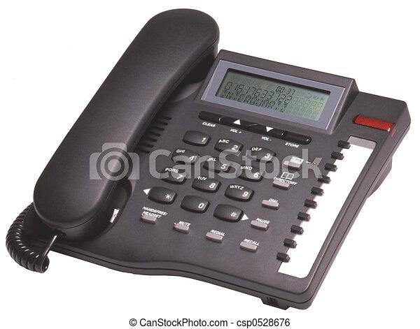 telefone preto - csp0528676